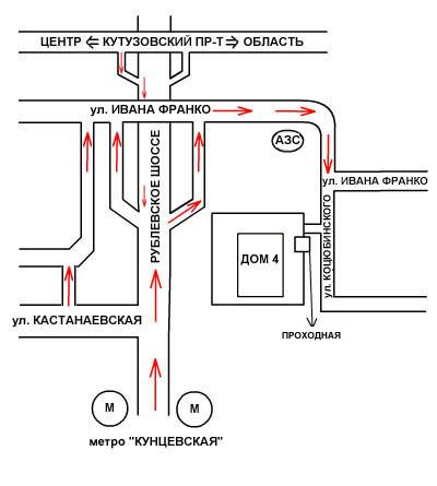 С московской кольцевой